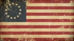 USA Betsy Ross Aged Flat Flag