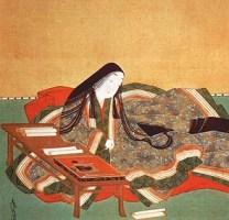 Kathy Portrait of Murasaki Shikibu from 1600s