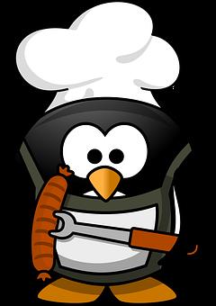 Grilling penquin free
