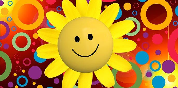 sun smiley face free